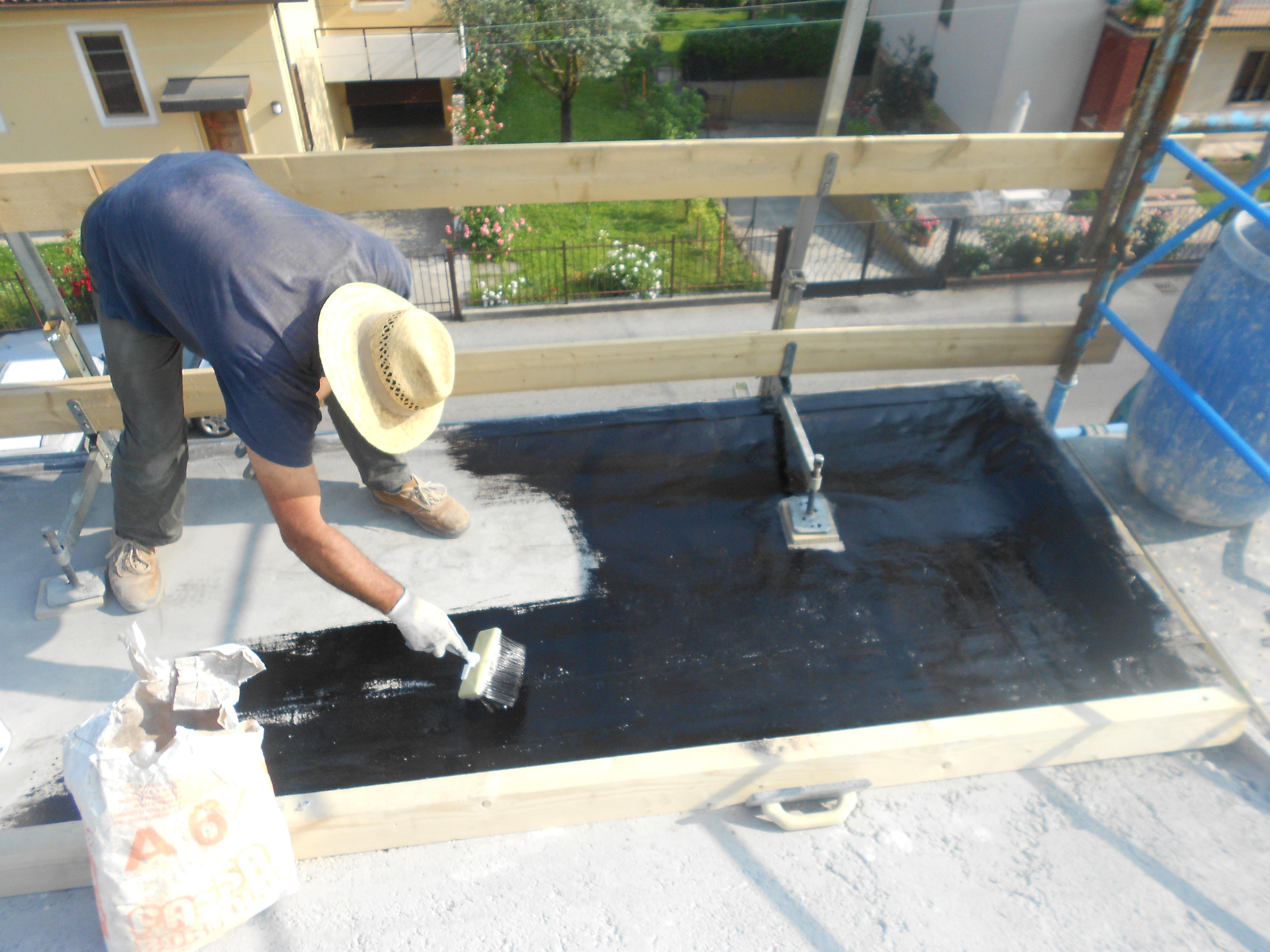 impermeabilizzazione copertura manutenzione ordinaria